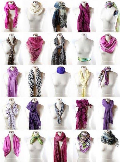 Bild 1: Für das vielseitige Frühjahr - mehr als 40 Tragevarianten für Tücher und Schals